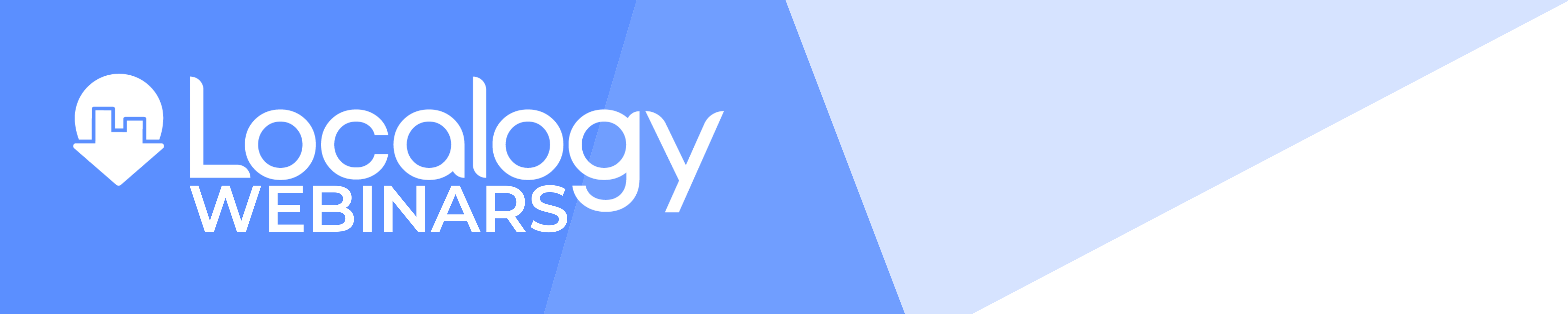 Localogy WEBINARS - Landing Page Banner