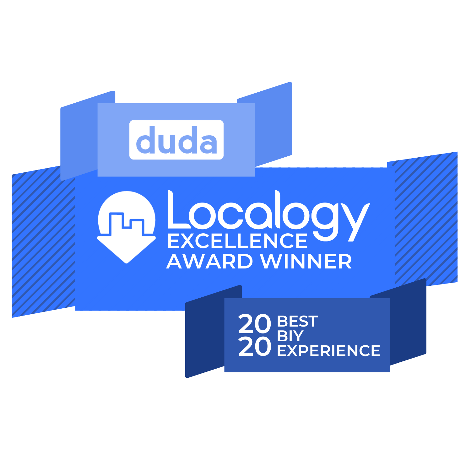 Localogy Excellence Awards Duda Best BIY Experience